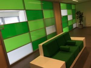 Wachtruimte bij spreekkamers werkplein regio Kennemerland in Haarlem